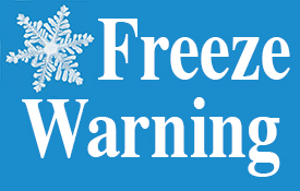 freeze-warning