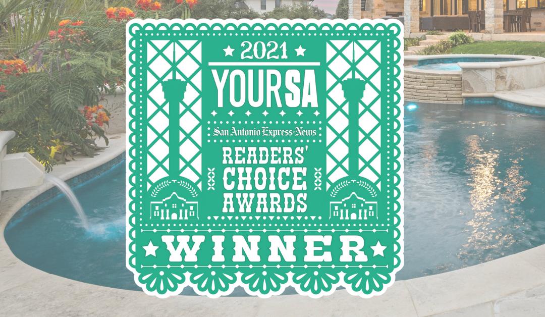 WINNER! 2021 YourSA Readers' Choice Awards
